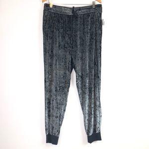 Secret Treasure Sleepwear Women's Velvet Gray Sz L